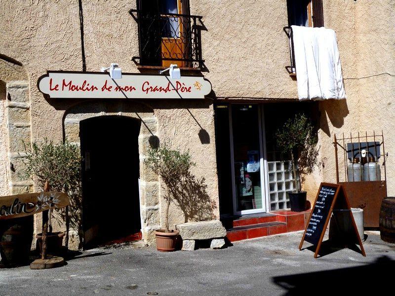 An Intermezzo: The Restaurant LE MOULIN DE MON GRAND-PÈRE in Figanieres
